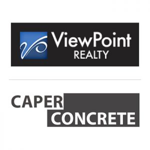 Viewpoint and Caper Concrete Logos