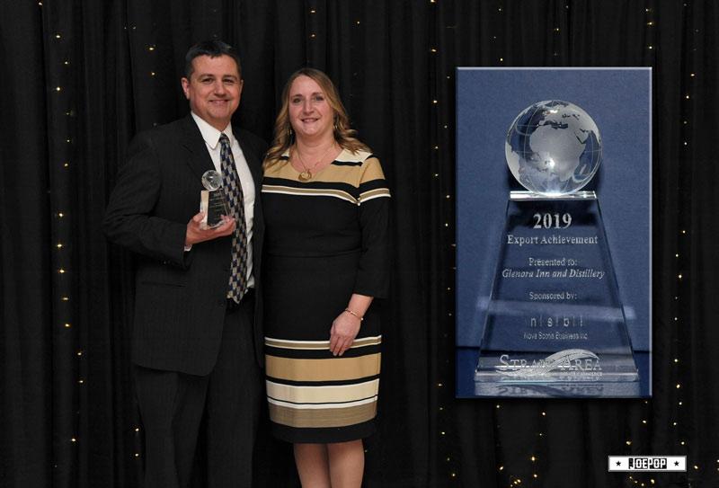 Glenora Inn and Distillery Export Achievement Award