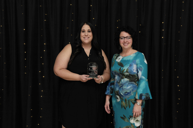 Justine Carter, CSN Hughie's Collision Centre - Outstanding Customer Service Award