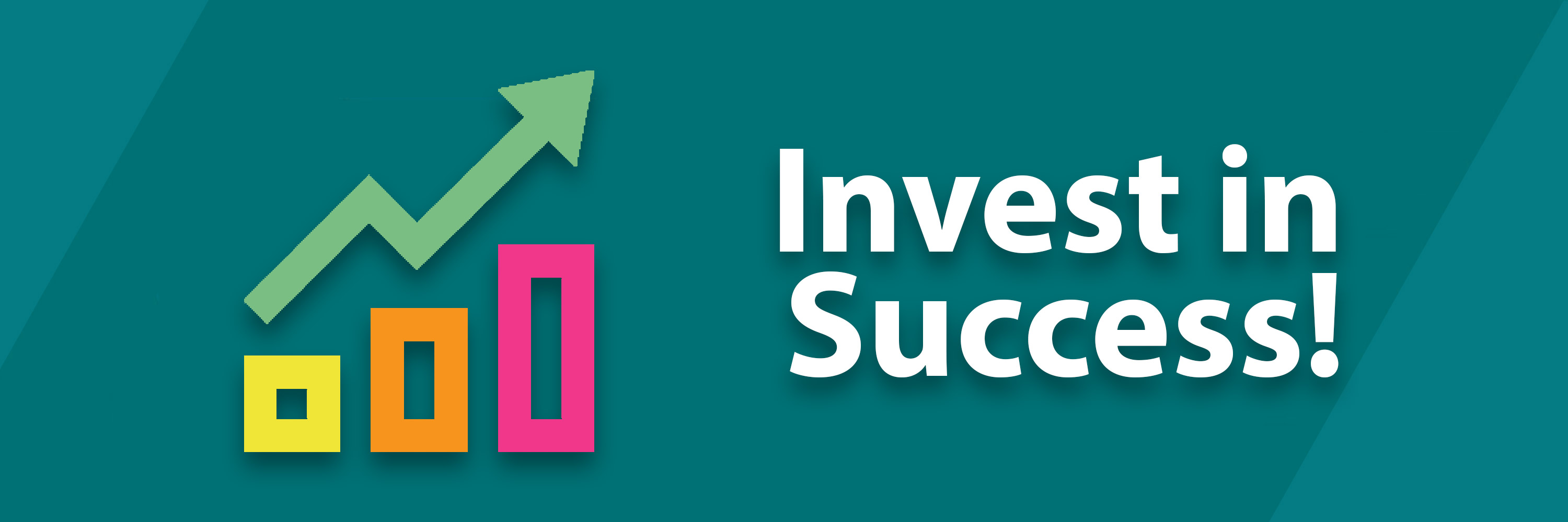 banner Invest In Success Sponsorship