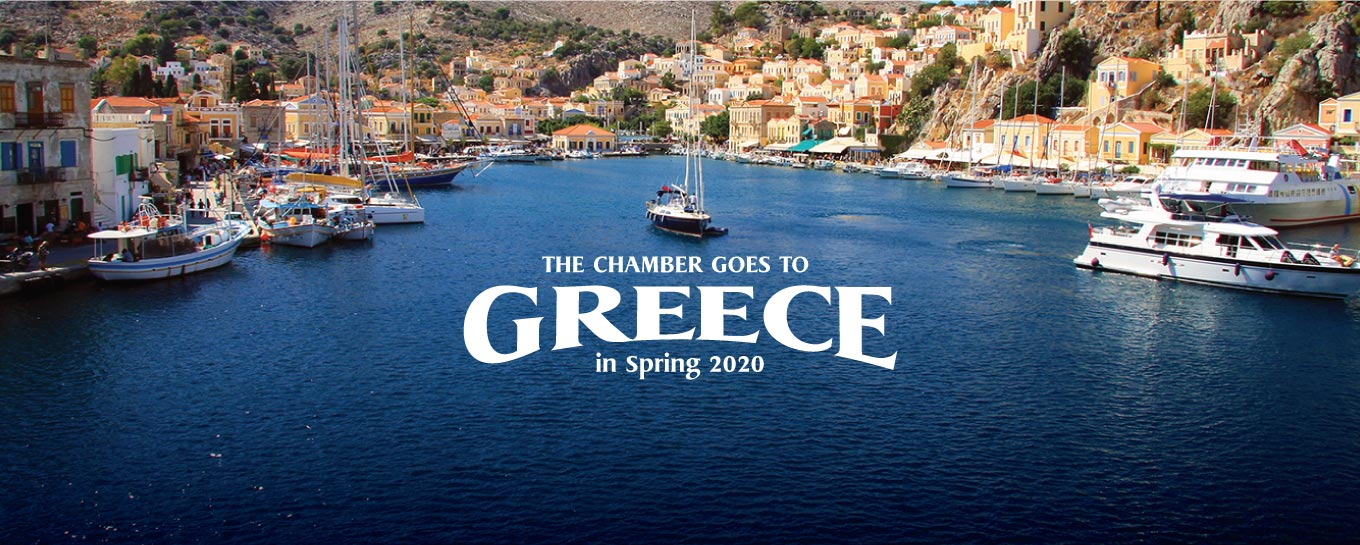 The Chamber Goes to Greece 2020!