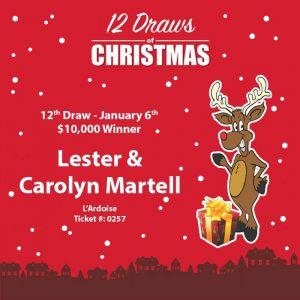 Lester & Carolyn Martell