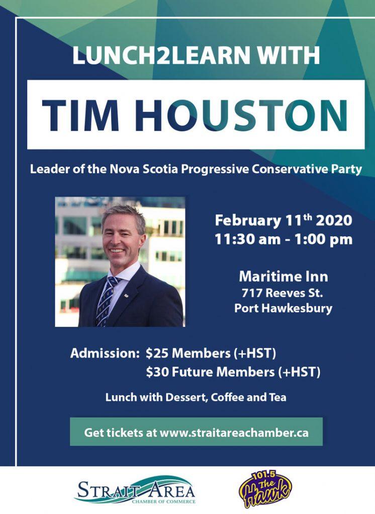 Tim Houston Lunch2Learn