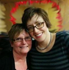 Wendy Abbott and Rosie Sampson2